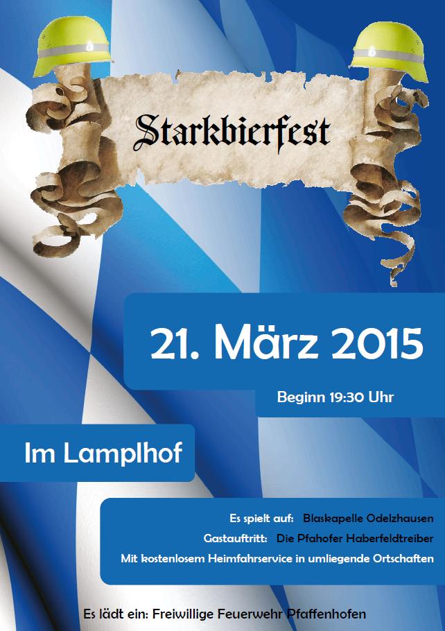 Starkbierfest 2015 Flyer